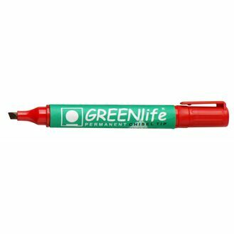 Greenlife Permanent Chisel Tip - Pack Of 10